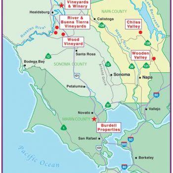 North Coast Wine Counties